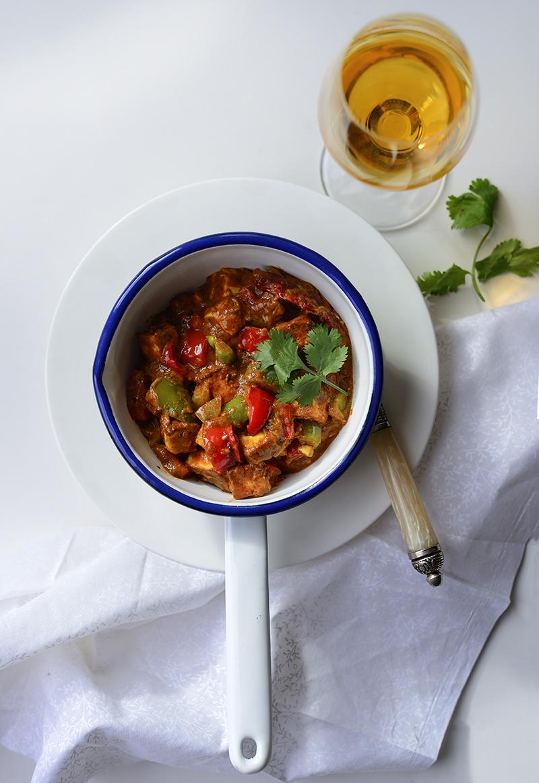Paneer tikka masala, curry, Indian curry, Simi Jois photography