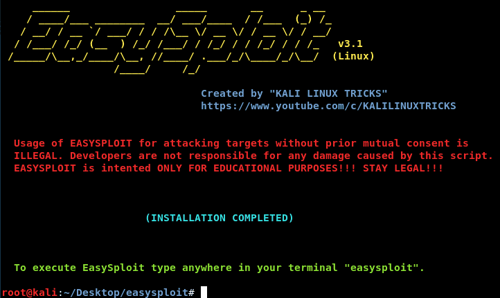 Automate Metasploit with Easysploit | Easy to Use and Faster