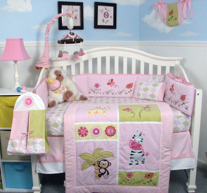 Jungle Theme Baby Bedding