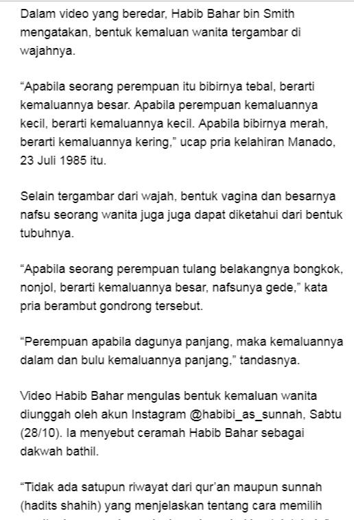 Lirik Ceramah Habib Bahar Nusagates