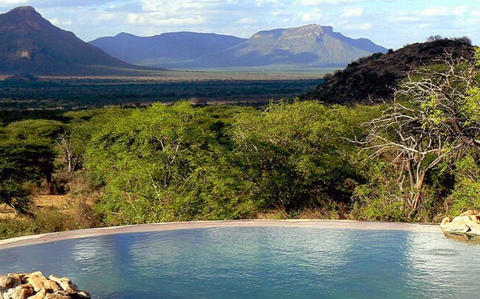 Sarara Luxury Tented Camp Lodge, Kenya - Infinity Edge Pool