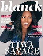 Check out Tiwa Savage in Blanck magazine's new issue