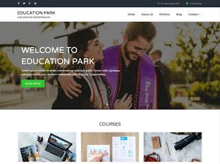 ওয়ার্ডপ্রেস টেম্পলেট education park ফ্রি ডাউনলোড