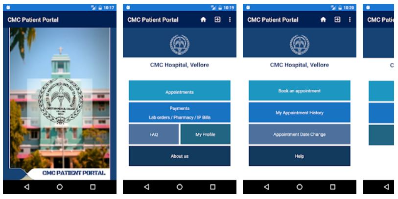 CMC Vellore Appointment Mobile App - Youth Apps - Best Website for