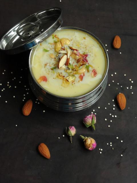 Quinoa Kheer, Quinao Coconut Milk Kheer