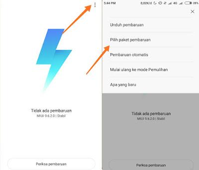 Cara Install MIUI 10 Update Android Pie Pada Xiaomi Mi 8