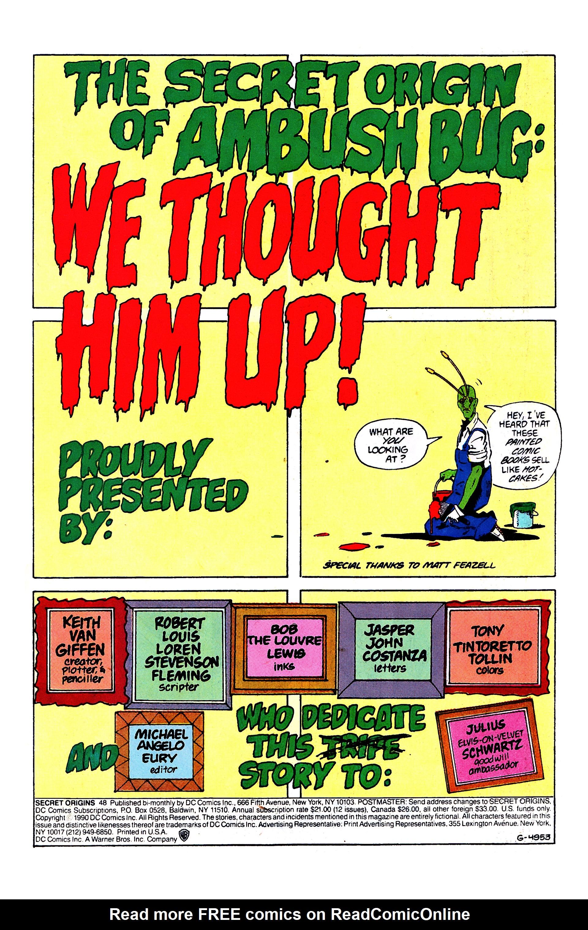 Secret Origins (1986) issue 48 - Page 3