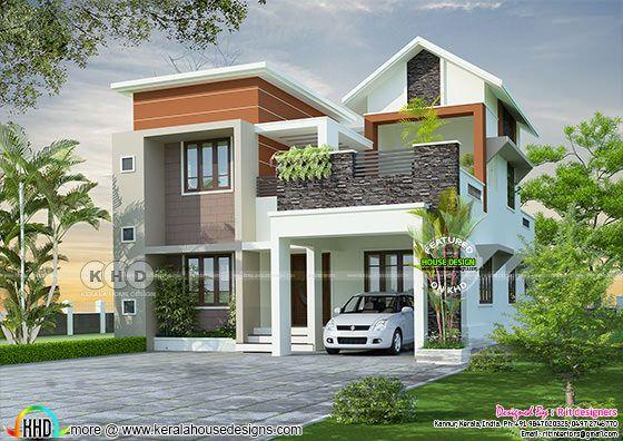 Beautiful Kerala home design in 4K resolution
