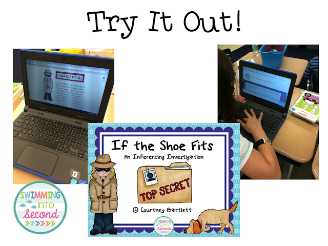 https://www.teacherspayteachers.com/Product/If-the-Shoe-Fits-an-inferencing-investigation-561831