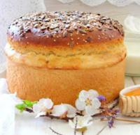Картофельный хлеб на сливках