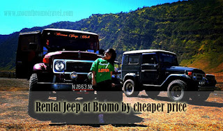Rental Jeep at Bromo by cheaper price