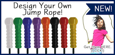 Pick your favorite color: Design your own Jump Rope at Holgate Toys.
