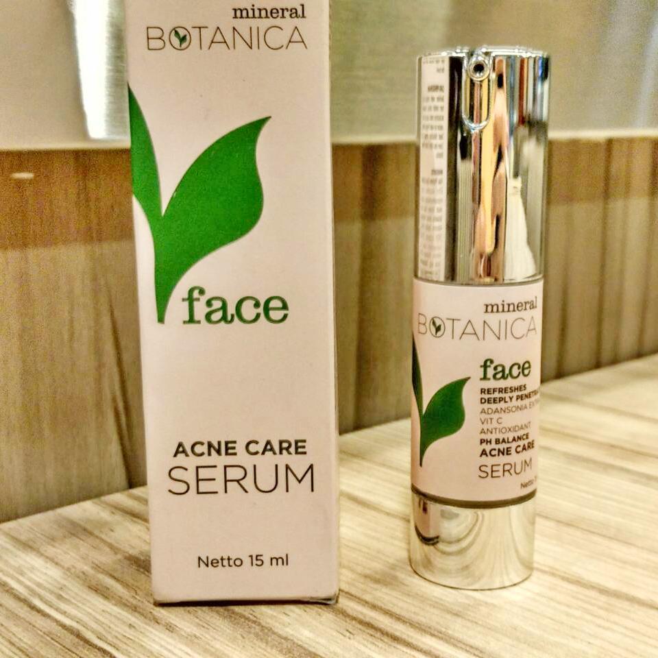 Mineral Botanica Acne Care Serum8 Daftar Harga Terkini Terlengkap Toner Ini Merupakan Kemasan Serum Untuk Kemasannya Manis Menurut Ku Karna