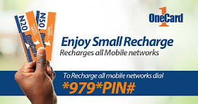 OneCard airtime nigeria