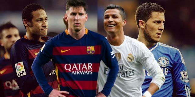 Os 10 Jogadores mais valiosos do Mundo em 2015, segundo o CIES Football Observatory.