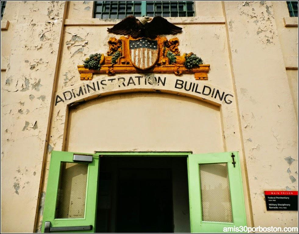 La Prisión de Alcatraz: Administration Building
