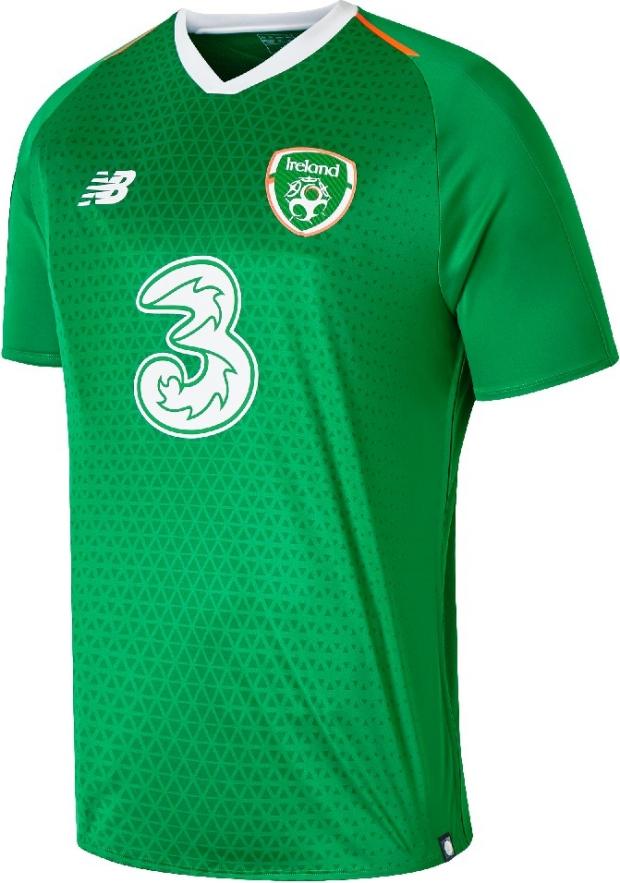 New Balance lança a camisa titular da Irlanda - Show de Camisas 374b7815db02d
