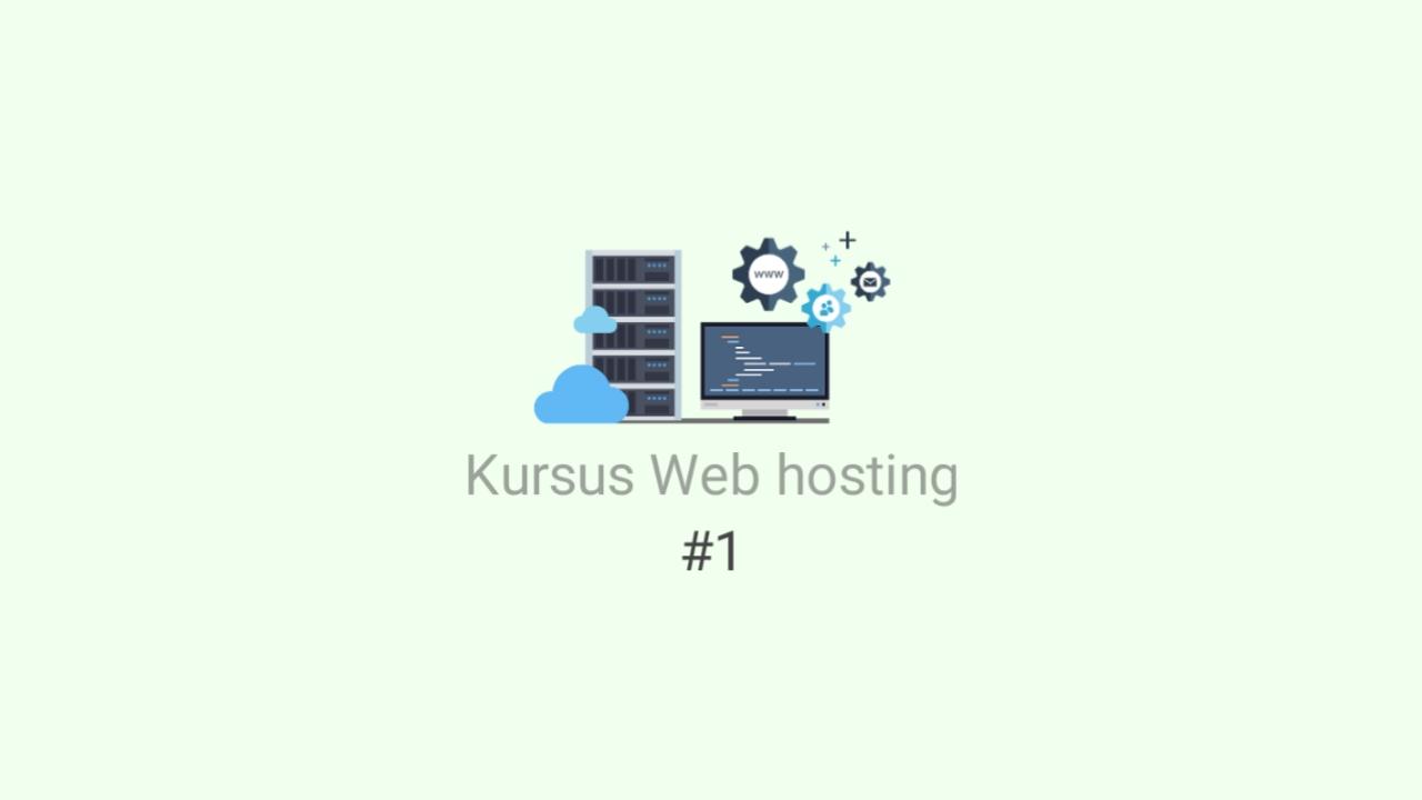 Kursus web hosting #1