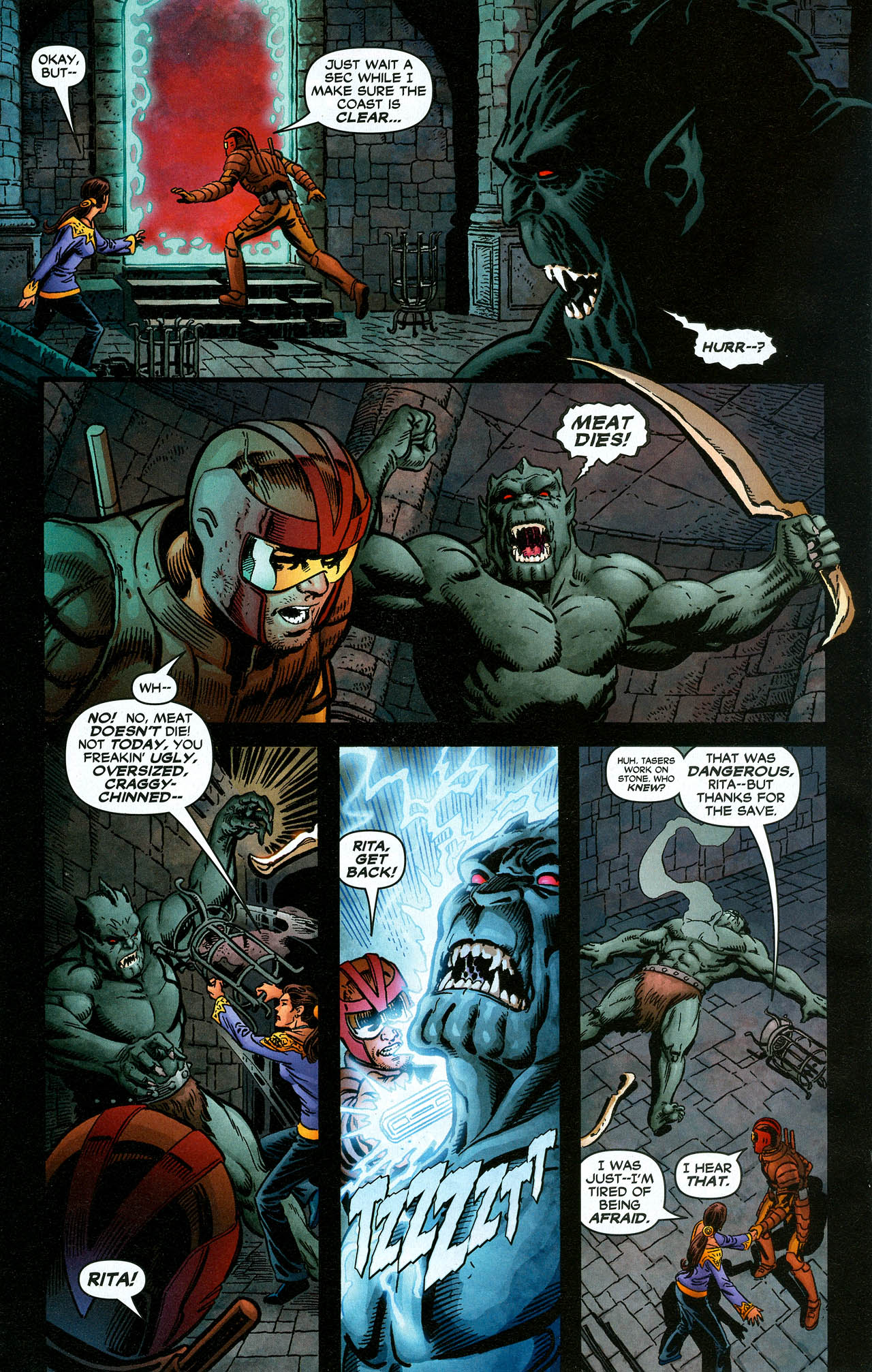 Read online Trinity (2008) comic -  Issue #16 - 22