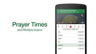 AplikasiMuslim Pro, Membantu Jadwal Waktu Sholat