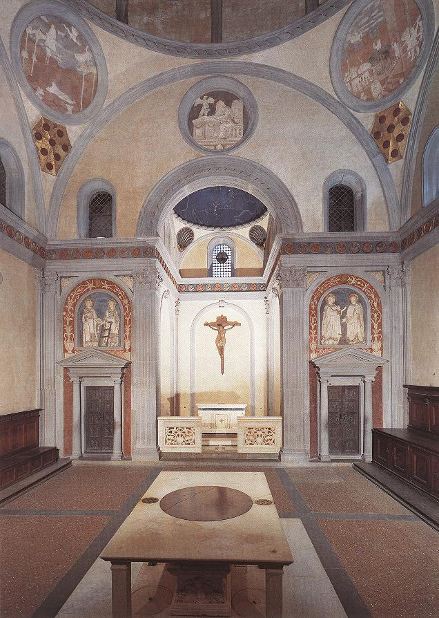 IWUart Italy 2011: Brunelleschi, Old Sacristy, San Lorenzo ...