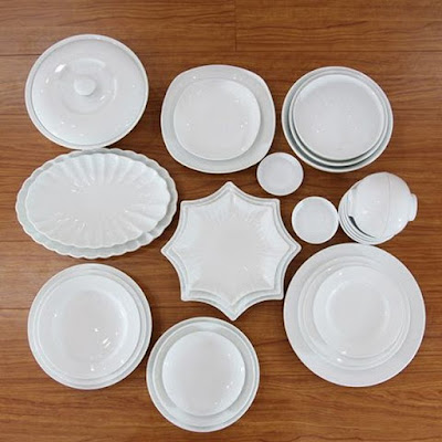 các mẫu bộ bát đĩa bát tràng đẹp hàng cao cấp
