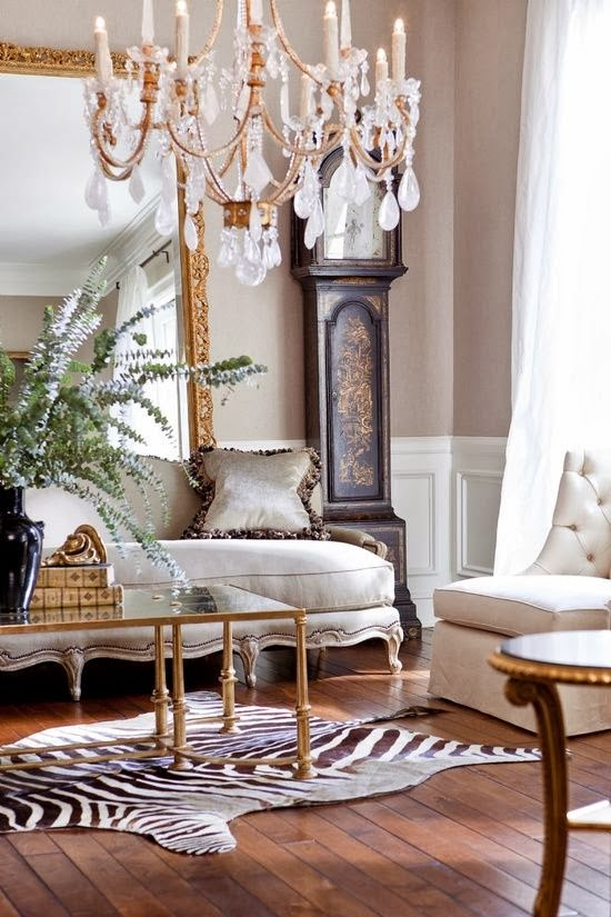 Eye For Design: Decorating With Zebra Rugs....A ...