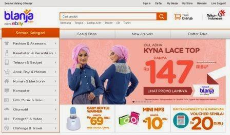 Toko Online Blanja Mitra ebay
