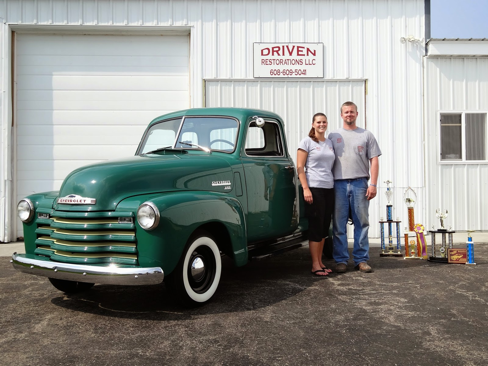 Owners of Driven Restorations provide car and truck restoration