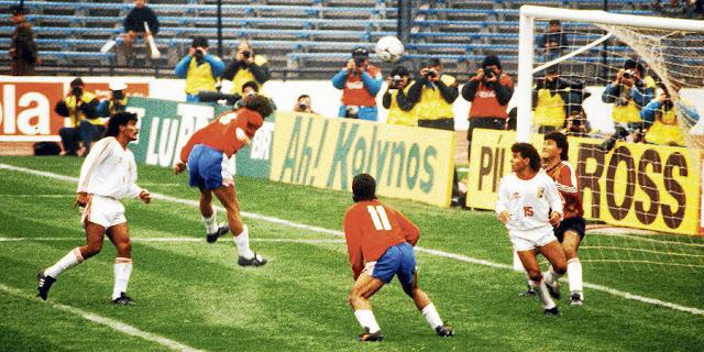 Chile y Venezuela en Copa América 1991, 6 de julio