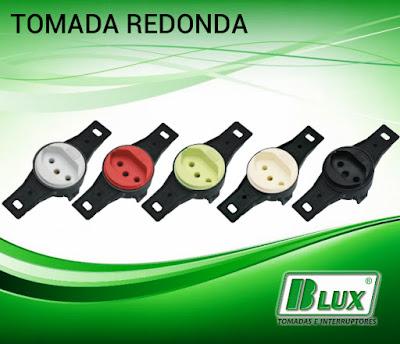 Tomada Redonda B-LUX
