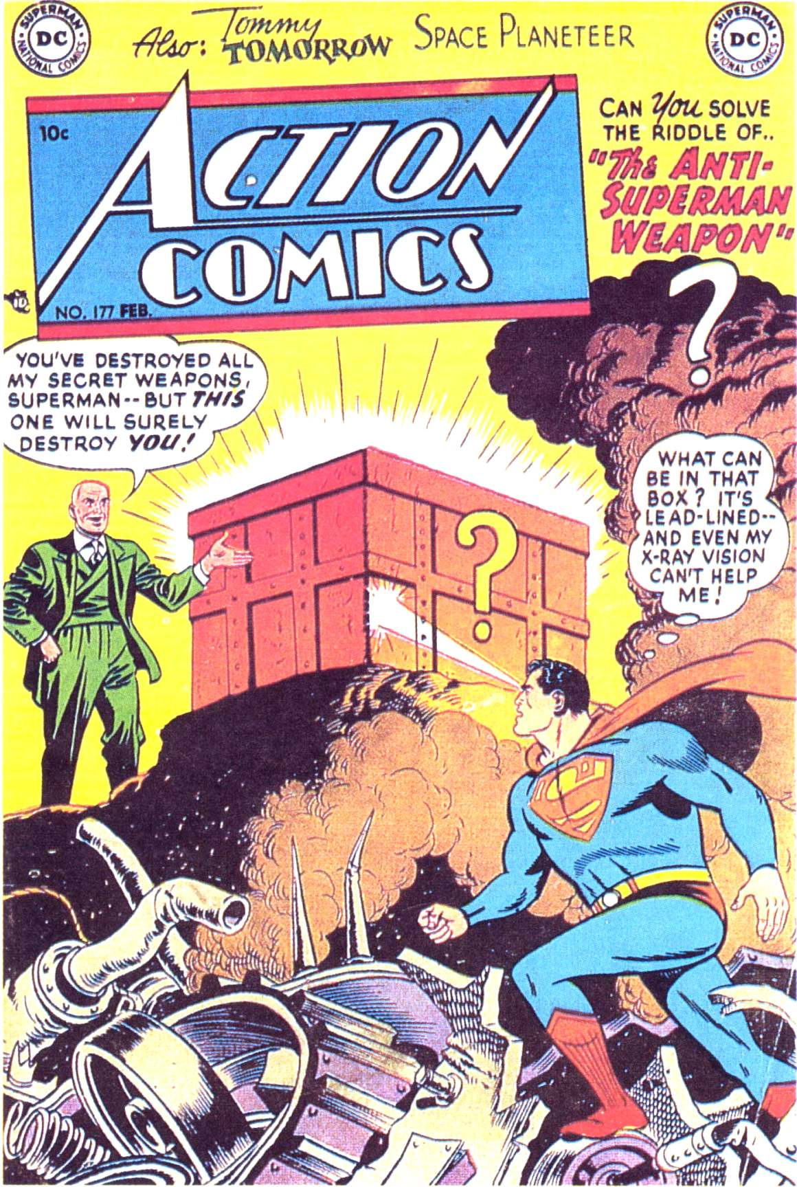 Read online Action Comics (1938) comic -  Issue #177 - 1