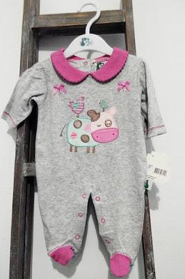 Pijama vaquita bebe nueva coleccion de canastilla primavera verano