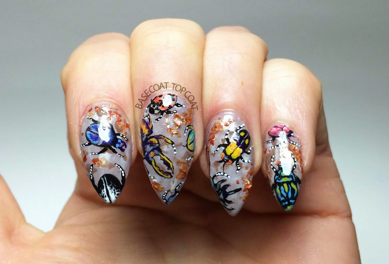 Born Pretty Store Blog: October Eye-catching Nail Designs ...