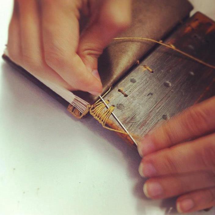 Linenlaid&felt Katie Gonzalez: Ethiopian Binding Workshop