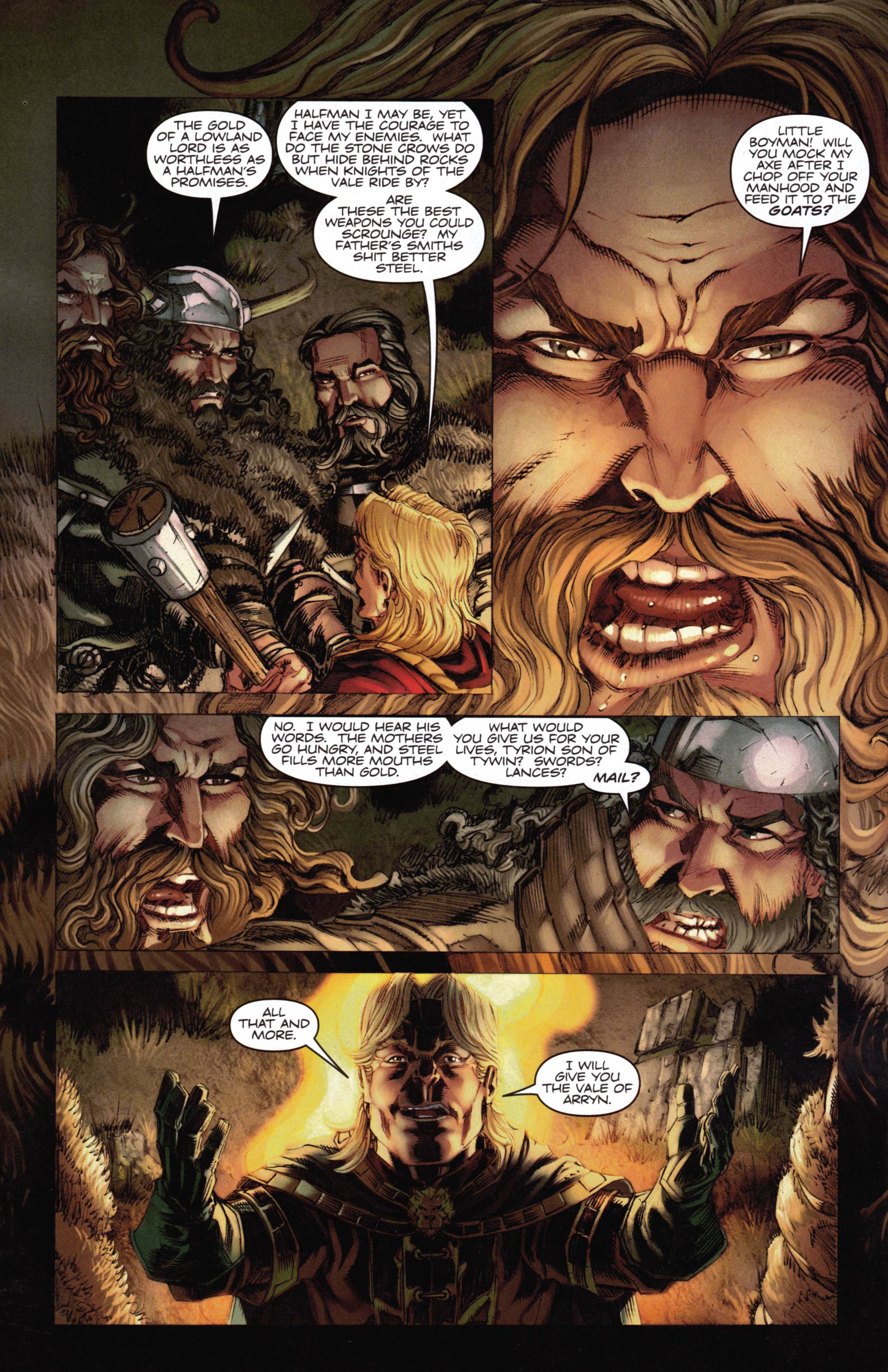 Read online A Game Of Thrones comic -  Issue #14 - 24