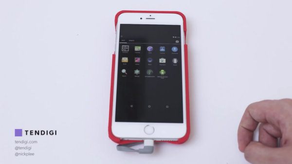 شاهد بالفيديو: مطور يقوم بتشغيل نظام الإندرويد على آيفون !