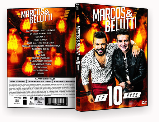 CAPA DVD – Marcos & Belutti EP 10 Anos – ISO