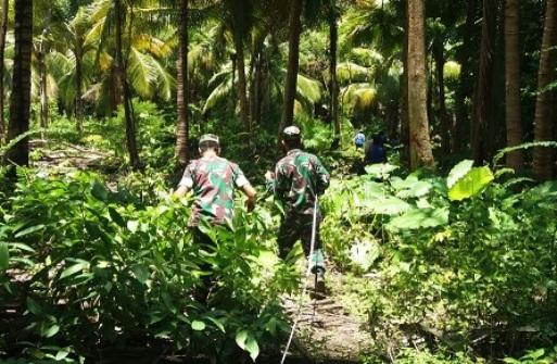 TNI Rintis 2,8 KM Jalan Penghubung, Desa Di Selayar