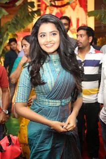 Actress Anupama Parameswaran Stills in Stylish Saree at Shatamanam Bhavathi Audio Launch  0014.JPG