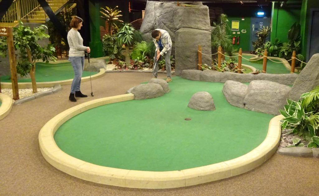 1427ac1ce Paradise Island Adventure Golf in Manchester