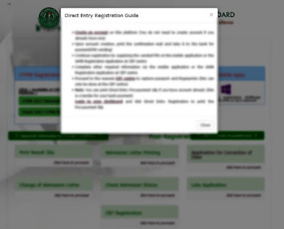 JAMB Reopens Portal For 2017 Direct Entry Registration