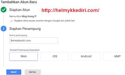 5. Melalui tag manager