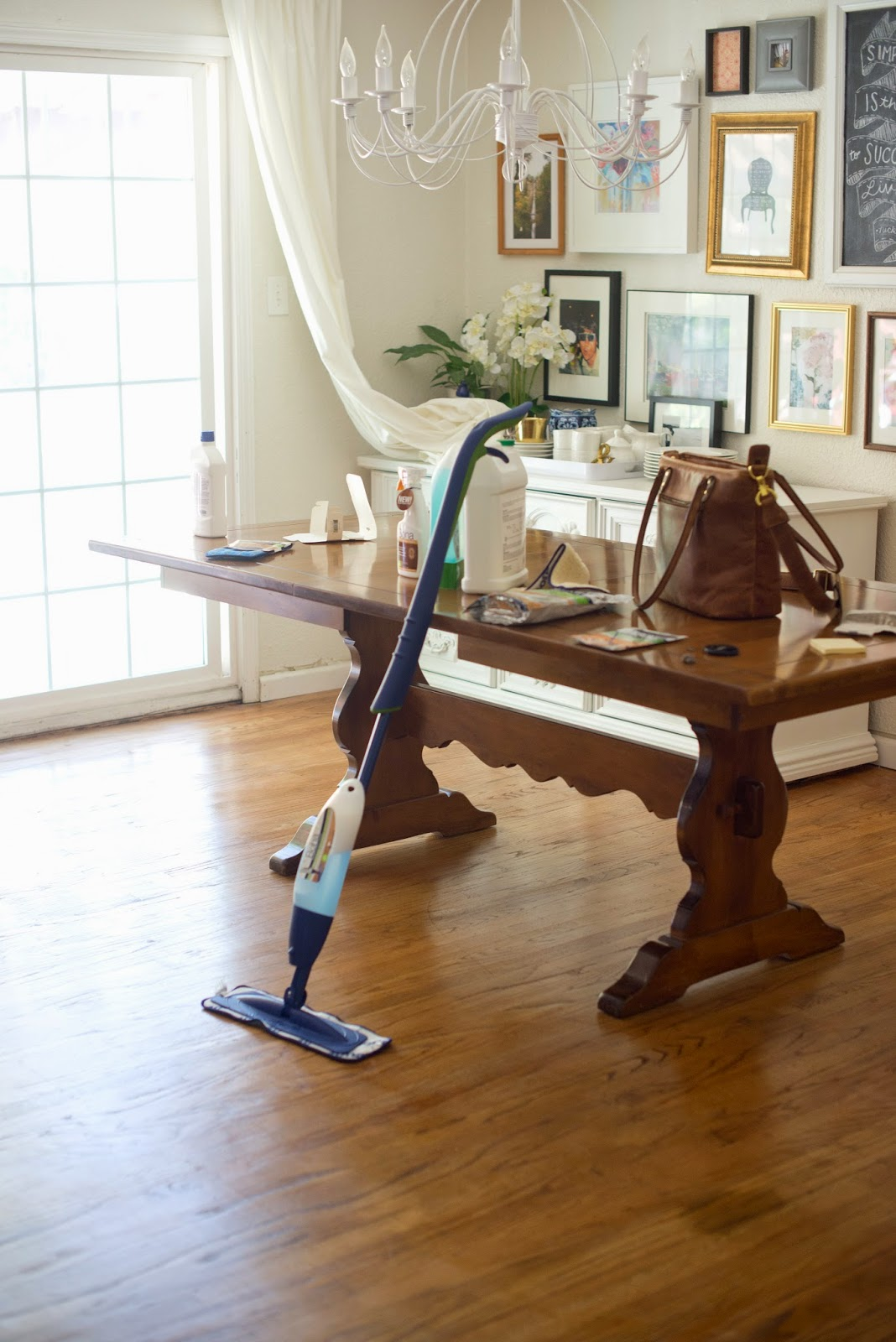 Domestic Fashionista Easy Hardwood Floor Care How To