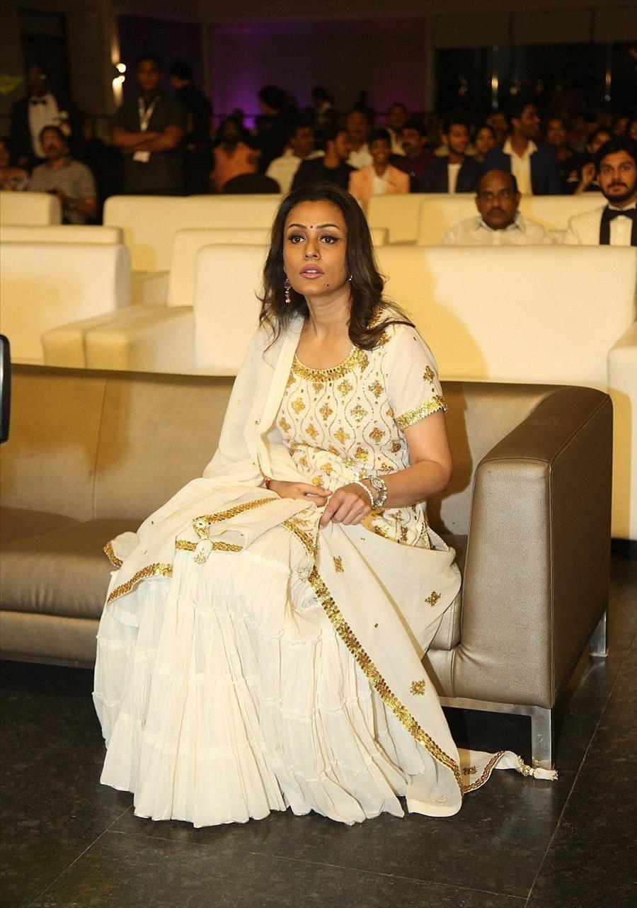 Indian Model Namrata Shirodkar at Dada Saheb Phalke Awards South
