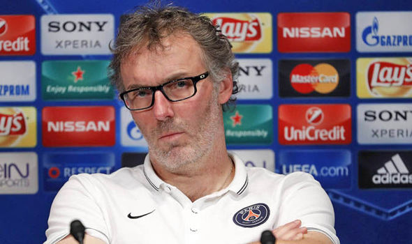 Laurent Blanc offered a scathing response when asked about Serge Aurier's comments