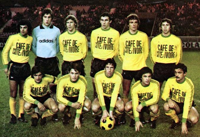 F.C NANTES 1975-76. By Ageducatifs.