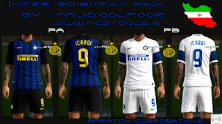 Kits Inter de Milan 2016-2017 Pes 2013 By M.Golpour