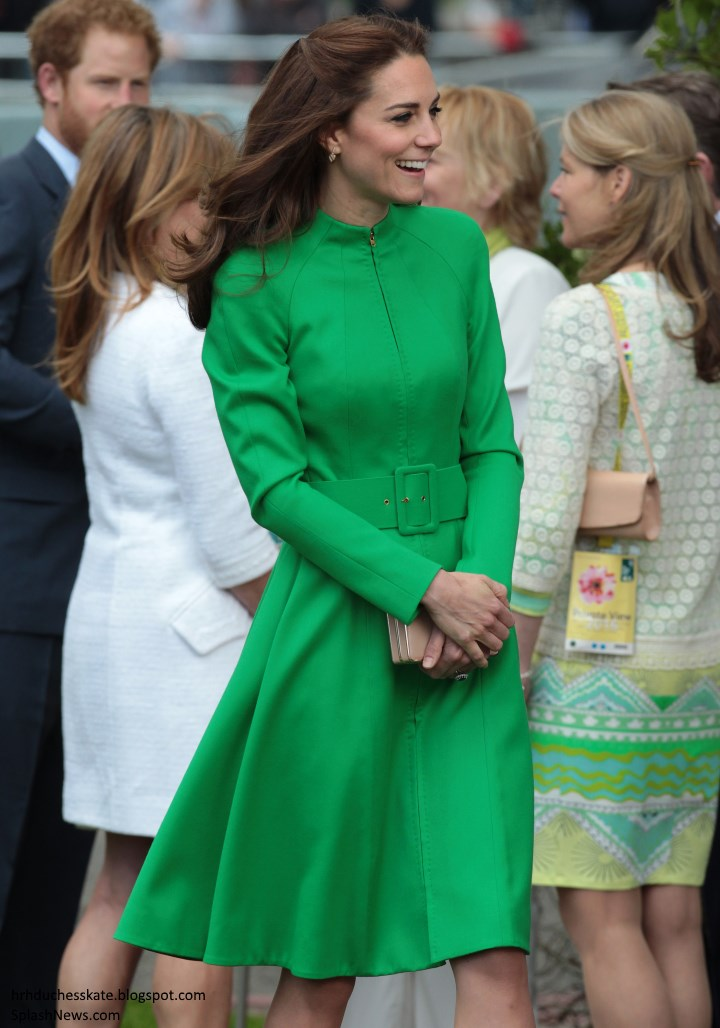 a3ecf98c045 The Duke and Duchess of Cambridge made their debut at the Royal  Horticultural Society s Chelsea Flower Show today.