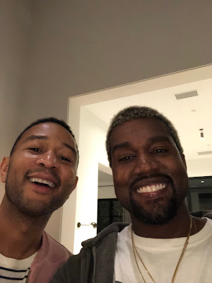 Kanye West And John Legend All Smiles After 'Disagreement'